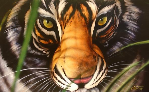 tigerbuttwoman