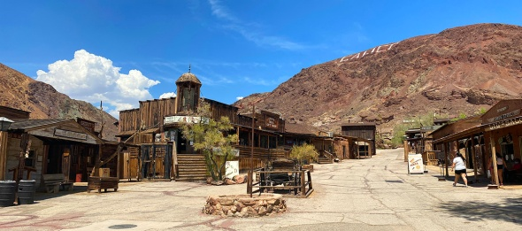 "Calico ""ghost town"""