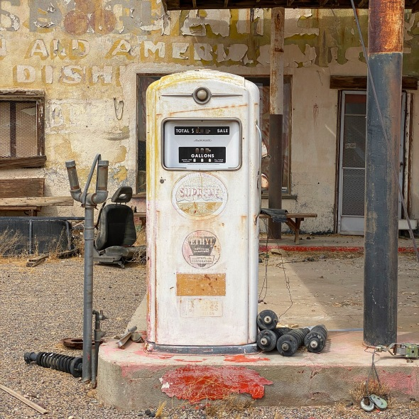 Gas pump on Route 66